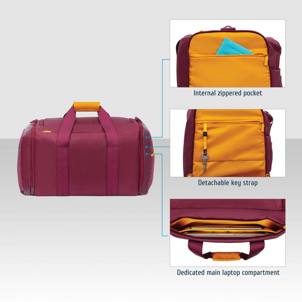 5331 burgundy red 35L Duffel bag
