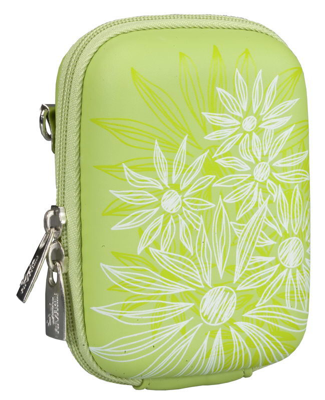 7023 (PU) Digital Case green (flowers)