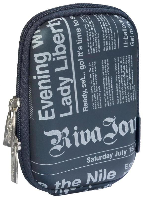 7103 (PU) Digital Case dark blue (newspaper)