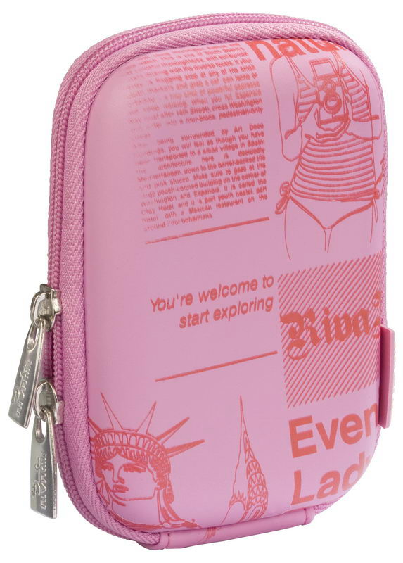 7103 (PU) Digital Case pink (newspaper)