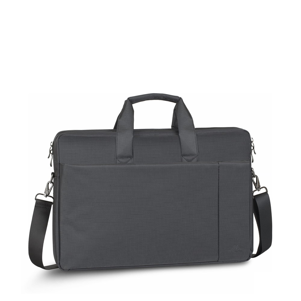 8257 black Full Size Laptop bag 17.3