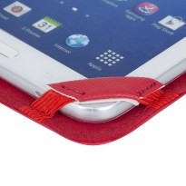 3212 red kick-stand tablet folio 7