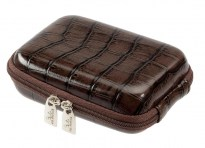 7103 (PU) Digital Case dark brown (turtle)
