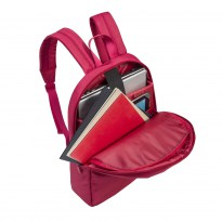 8065 red Laptop backpack 15.6
