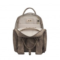 8925 beige Laptop backpack 13.3